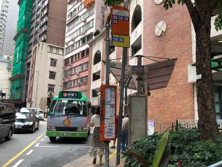 物業附近巴士站