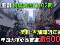 【動盪之時】美聯:銅鑼灣商舖空置率直逼10%