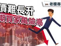 【老樓周記】樓價難長升 建期買家風險高